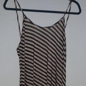 Woman's Striped Dress